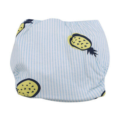 Adjustable Washable Pocket Reusable Baby Nappies Diapers Cloth Inserts Nappy FI