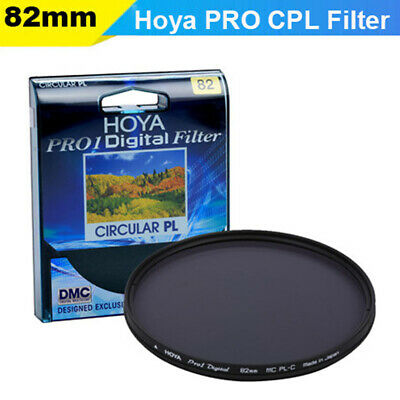 HOYA 82mm PRO1D Circular Polarising Slim Filter PL-CIR CPL