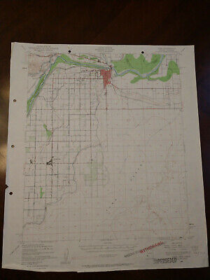 22x29 1940 USGS Topo Map Yuma, Arizona Yuma Desert Colorado River Somerton