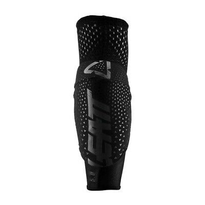 Leatt 3DF 5.0 Elbow Guards Motocross MX Offroad Black Adults PAIR