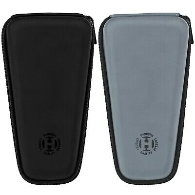 NEW FOR 2016 HARROWS ACE DARTS CASE Black or Grey Silver Large Hard Case