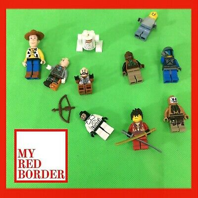 Lego Minifigure bundle Toy Story Woody Star Wars Jango Fett Ninjago Joblot