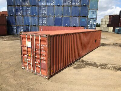 Used 40' Dry Van Steel Storage Container Shipping Cargo Conex Seabox Newark