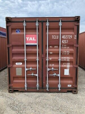 Used 40' High Cube Steel Storage Container Shipping Cargo Conex Seabox Newark