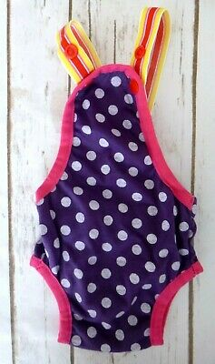 Pet Suspender Diaper Cover Purple Size XS