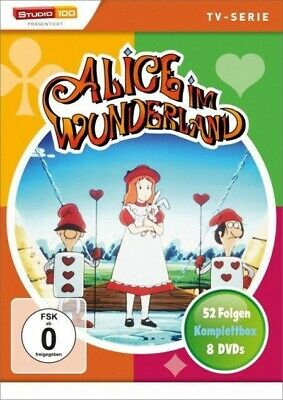 Alice im Wunderland Komplettbox (TV-Serie) Lewis Carroll DVD 8 DVDs Deutsch 1983
