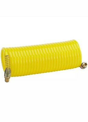 "CLARKE CAT58 Air Compressor Recoil Air Hose 1//4/"" BSP 25FT 6mm internal diameter"
