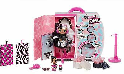 LOL Surprise OMG Winter Disco Fashion Doll *DOLLIE* & Sister Sold Out Ships 9/30