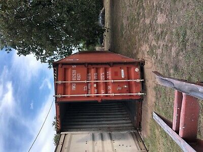 Used 40' High Cube Steel Storage Container Shipping Cargo Conex Seabox Salt Lake