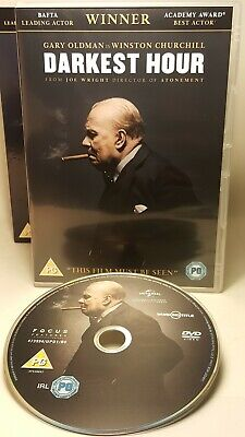 Darkest Hour (Gary Oldman) Dvd - Region 2. Fast/Free Posting.