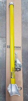 Hastings EX1-002 Pole Mounted Support Arm with Chain Tightener-NEW