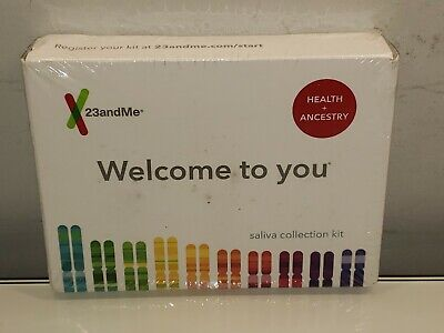 23andMe Health and Ancestry Saliva Collection Kit New