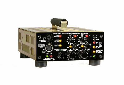 MiIlennia Media TD-1 Portable Solid State or Tube Channel Strip with Preamp, ...