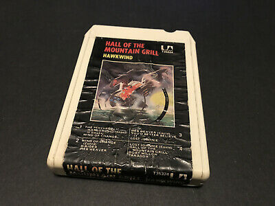 Hawkwind Hall Of The Mountain Grill Aussie 8 Track Tape Cartridge 1974 Festival