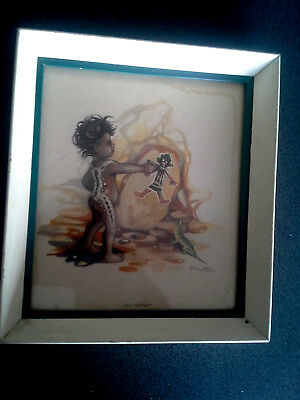 Peg Maltby Self Portrait Framed Print Australian Aboriginal