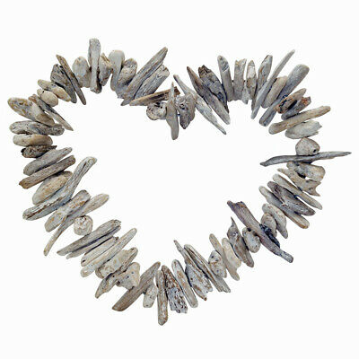 Boho Coastal Handmade Wall Hanging Driftwood Heart Home Decor Wall Art Ornaments