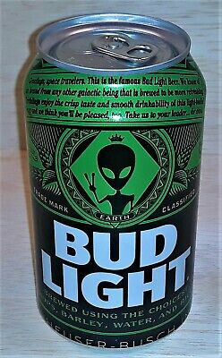 Bud Light Area 51 Green Alien Can - NEW - Limited Collectors Item -Alienstock
