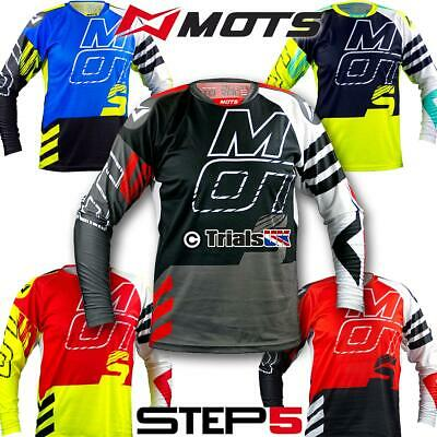 MOTS 2020 STEP5 Trials Riding Shirt - In 5 Colours