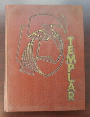 Templar Temple University Yearbook Vintage 1955 Philadelphia (4.5lb)