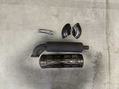 Genuine Kubota Muffler 15371-12110 (Complete with shroud and exhaust tip)