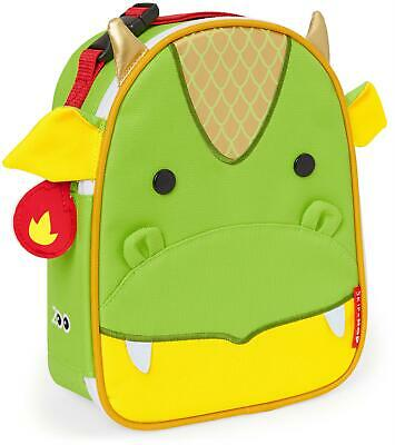 Skip Hop ZOO LUNCHIE INSULATED LUNCH BAG - DRAGON Toddler Food Storage BNIP