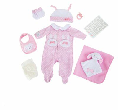 Chad Valley Tiny Treasures Pink Gift Set For Your Doll Hamper Set Accessories