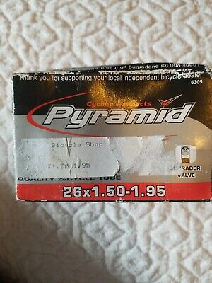 Cycling Products Pyramid 26x1.50-1.95 Quality Bicycle Tube