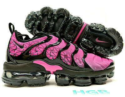 Nike Air Vapormax Plus Men's Black Fuchsia Pink Running Training 924453-603 NIB