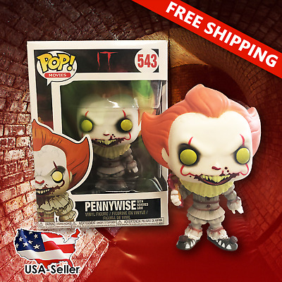 IT FUNKO POP! Pennywise with Severed Arm #543 Horror - NEW  - Supports Charity!