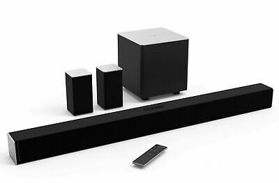 "VIZIO SB3851-C0 38"" 5.1 Channel Bluetooth Sound Bar System w/ Wireless Sub Loud"