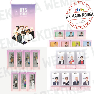 BTS WORLD 2nd Collection Badge Flag + Acrylic Keyring + Manager Card + ID Magnet