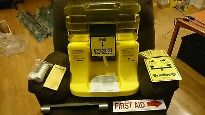 Bradley On-Site S19-921 Portable Gravity Fed Eye Wash Station