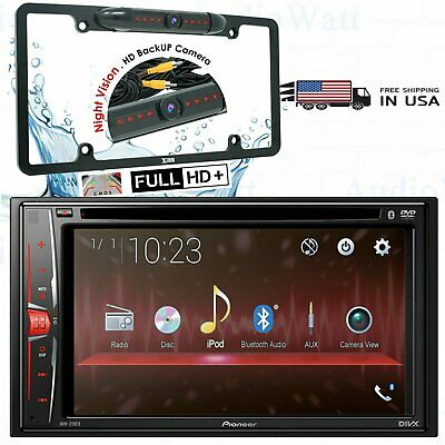 """NEW Pioneer AVH-210EX Multimedia DVD Receiver with 6.2"""" WVGA + Back-up Camera"""