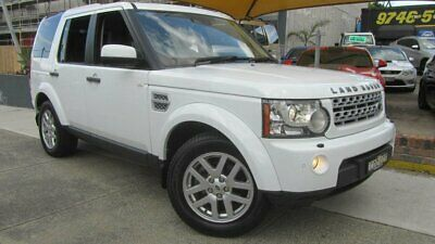 2012 Land Rover Discovery 4 MY12 2.7 TDV6 White Automatic 6sp A Wagon