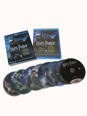 Harry Potter: Complete 8-Film Collection [Blu-ray] 8 Discs Brand NEW USA seller!