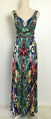Eci New York Multi Color Dress Size 4