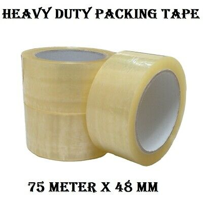 36 x Sticky Packing Packaging Tape  75meter x 48mm (45U), Brand new