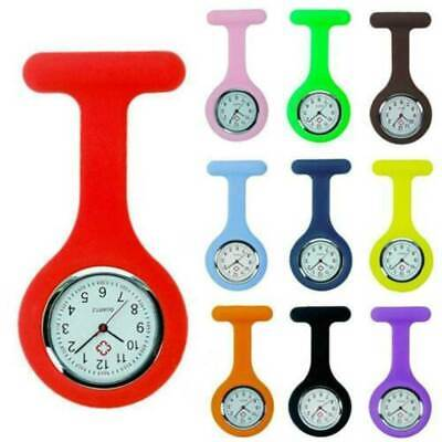 Moment L05 New Silicone Nurse Watch Brooch Tunic Fob Watch