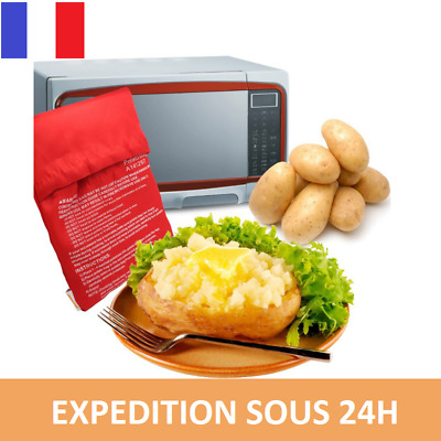 sac cuisson pomme de terre express patates micro ondes rapide 5 mn patate