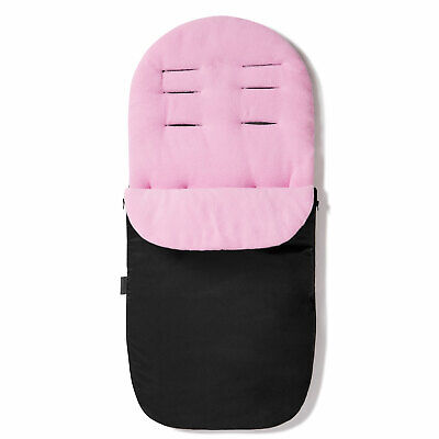 Deluxe Footmuff Cosy Toes Compatible with Cybex Eezy Light Pink