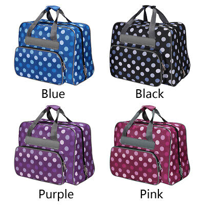 Large Capacity Nylon Sewing Machine Bag Carrying Storage Cover Case Handbag AU
