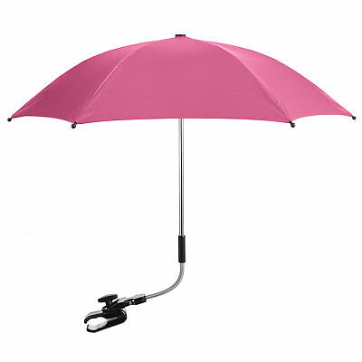 Baby Parasol Compatible with Hauck Sport - Hot Pink