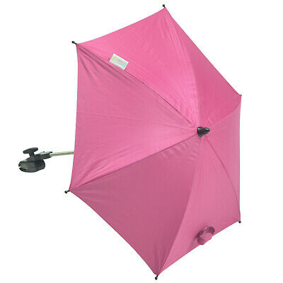 Baby Parasol Compatible with Quinny Hubb - Hot Pink