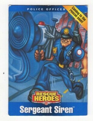 Fisher Price Rescue Heroes. Sergeant Siren