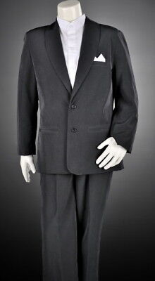 Kids Pageboy Formal Black Page Boy Wedding Jacket Only Size 000 to 16