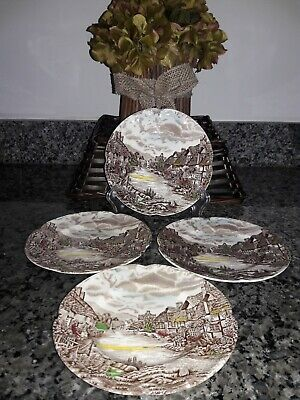 Johnson Brothers Old English Countryside 6 Inch Plates. Set of 4