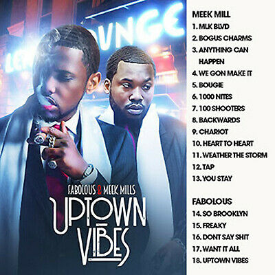 Big Mike - Uptown Vibes (Mix Cd) Meek Mill & Fabolous