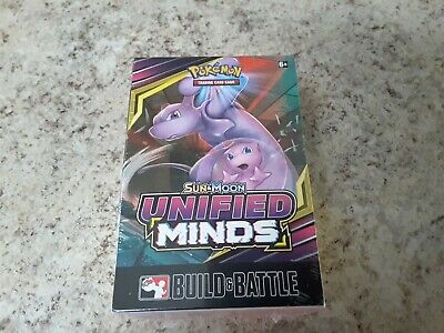 Pokemon Sun and Moon Unified Minds Build and Battle Box.
