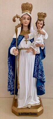 Blessed Virgin Mary Our Lady of Good Success 14 Inch Statue
