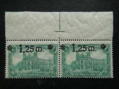 Germany 1920 Stamp MNH Overprint General Post Office in Berlin 1902 Surcharged G
